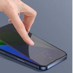 Folie privacy iPhone 12, din sticla securizata [4]