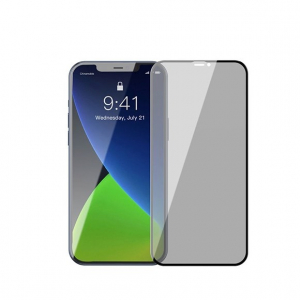 Folie Privacy iPhone 13 Mini / 12 Mini, din sticla securizata