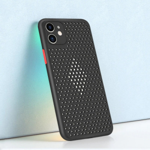 Husa iPhone 11 Heat Dissipation neagra [1]