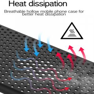 Husa iPhone 11 Heat Dissipation neagra [2]