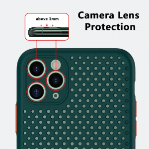 Husa iPhone 11 Heat Dissipation verde [4]