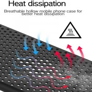 Husa iPhone 7/8/SE(2020) Heat Dissipation neagra [2]
