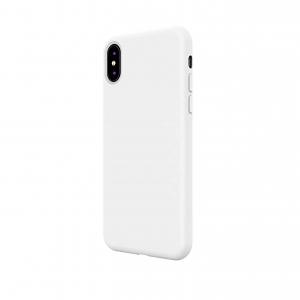Husa iPhone X/XS din silicon alb