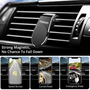Suport auto magnetic pentru telefon Fonken [5]