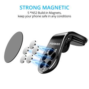 Suport auto magnetic pentru telefon Fonken [4]