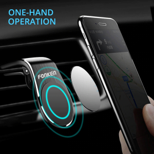 Suport auto magnetic pentru telefon Fonken [1]