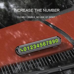 Suport bord pentru numar de telefon, suport auto numer telefon, placuta nr telefon [4]