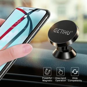 Suport telefon auto magnetic cu adeziv [3]