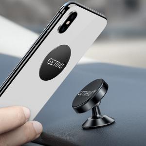Suport telefon auto magnetic cu adeziv [1]