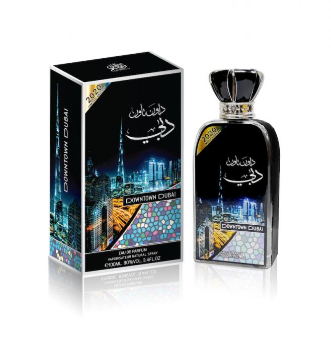 Parfum arabesc Downtown Dubai, apa de parfum 100 ml, unisex [2]