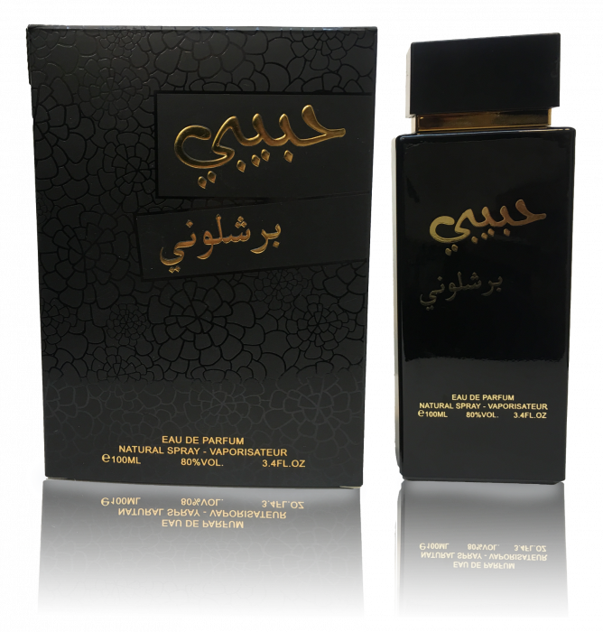 Parfum arabesc Habibi Barcelona, apa de parfum 100 ml, barbati [0]