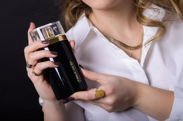 Louis Varel Black Side, apa de parfum 100 ml, femei 4