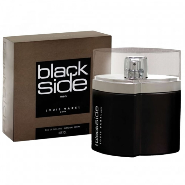 Louis Varel Black Side, apa de toaleta 90 ml, barbati 1