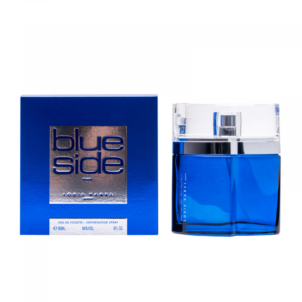 Louis Varel Blue Side, apa de toaleta 90 ml, barbati 3
