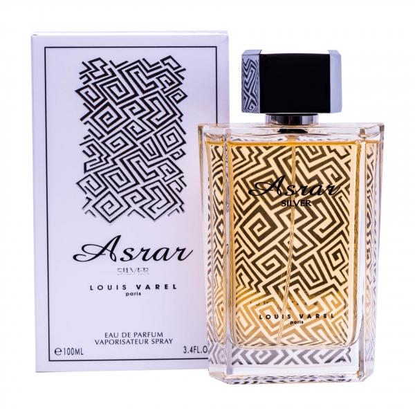 Louis Varel Asrar Silver, apa de parfum 100 ml, unisex 1