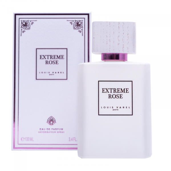 Louis Varel Extreme Rose, apa de parfum 100 ml, unisex 1