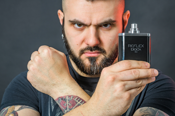 Louis Varel Reflex Black, apa de toaleta 100 ml, barbati 4