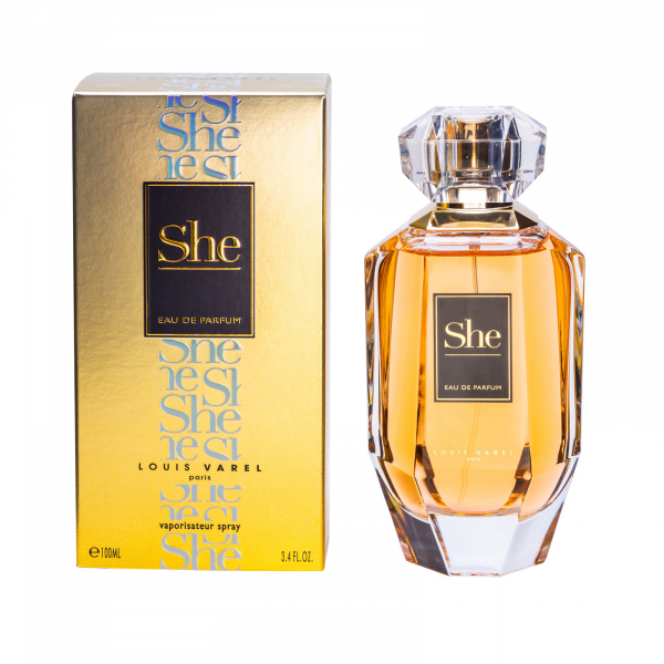 Louis Varel She, apa de parfum 100 ml, femei 1