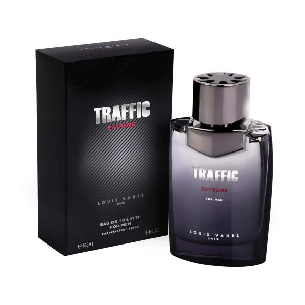 Louis Varel Traffic Extreme, apa de toaleta 100 ml, barbati 1