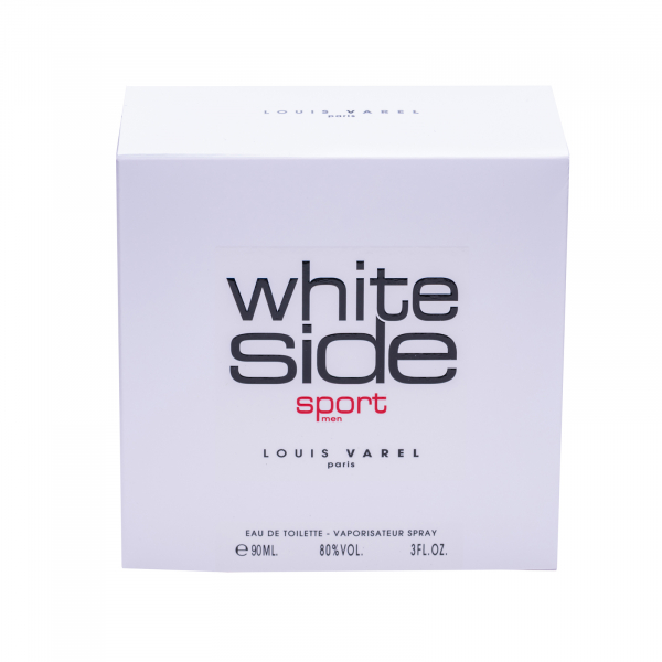 Louis Varel White Side Sport, apa de toaleta 90 ml, barbati 6