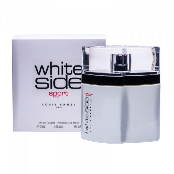 Louis Varel White Side Sport, apa de toaleta 90 ml, barbati 1