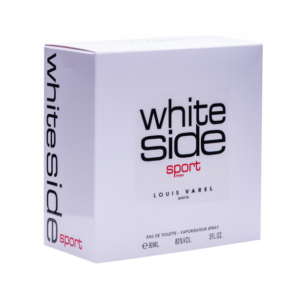Louis Varel White Side Sport, apa de toaleta 90 ml, barbati 5
