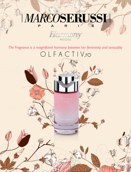 Marco Serussi Harmony, apa de parfum 100 ml, femei 2