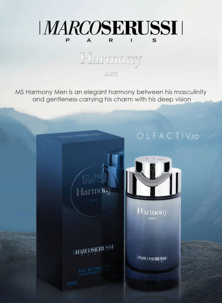 Marco Serussi Harmony, apa de toaleta 100 ml, barbati 4