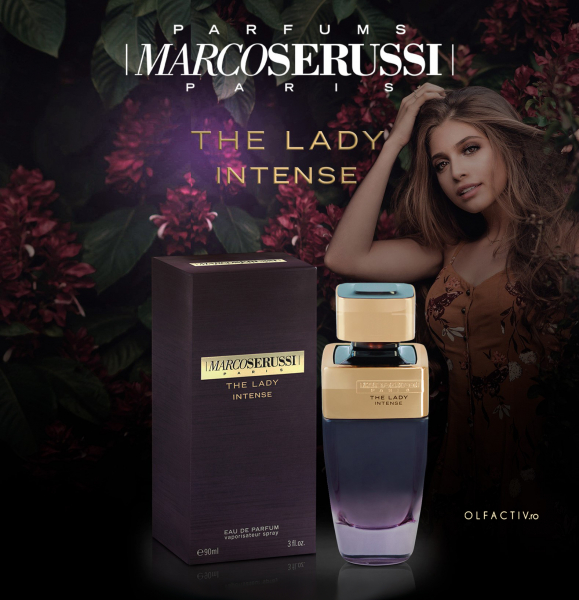 Marco Serussi The Lady Intense, apa de parfum 90 ml, femei 2