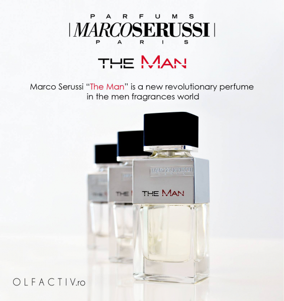 Marco Serussi The Man, apa de toaleta 100 ml, barbati 6
