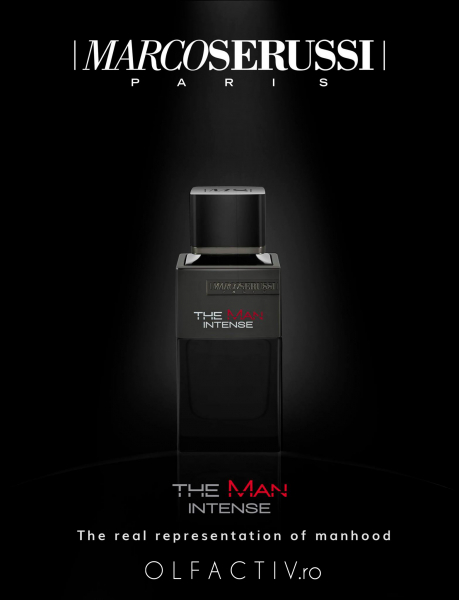 Marco Serussi The Man Intense, apa de toaleta 100 ml, barbati 2