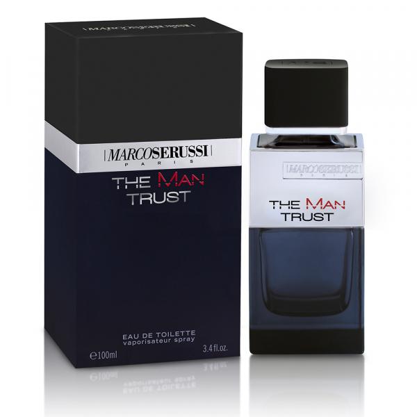 Marco Serussi The Man Trust, apa de toaleta 100 ml, barbati 1