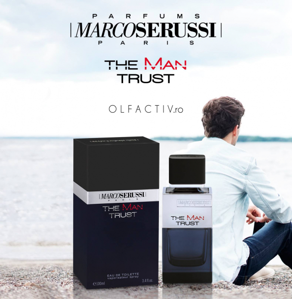 Marco Serussi The Man Trust, apa de toaleta 100 ml, barbati 2