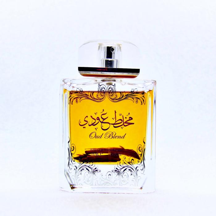 Parfum arabesc Oud Blend Mukhallat Oudi, apa de parfum 100 ml, unisex [0]