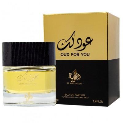 Parfum arabesc Oud For You, apa de parfum 100 ml, unisex [0]