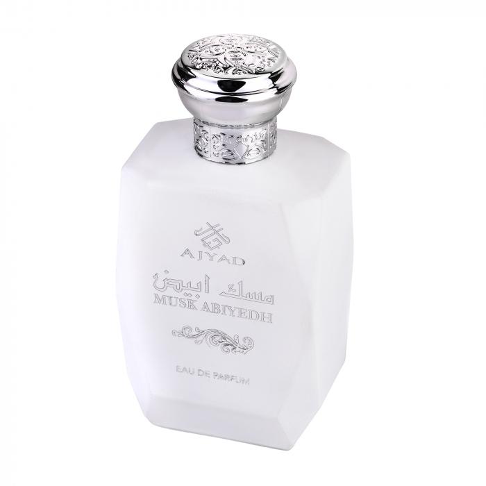 Parfum arabesc Ajyad Musk Abiyedh, apa de parfum 100 ml, barbati [1]