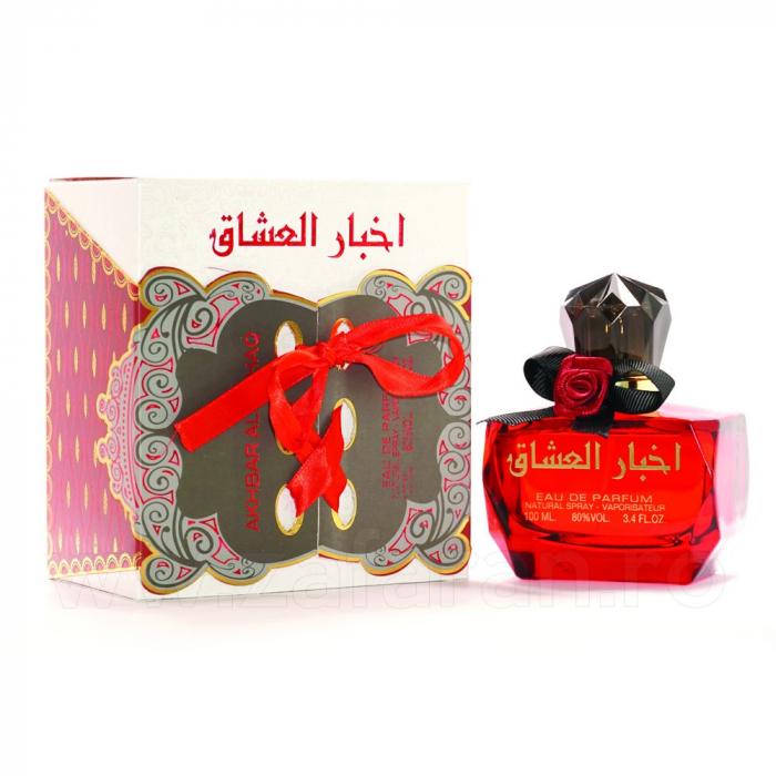 Parfum arabesc Akhbar Al Ushaq, apa de parfum 100 ml, femei 1