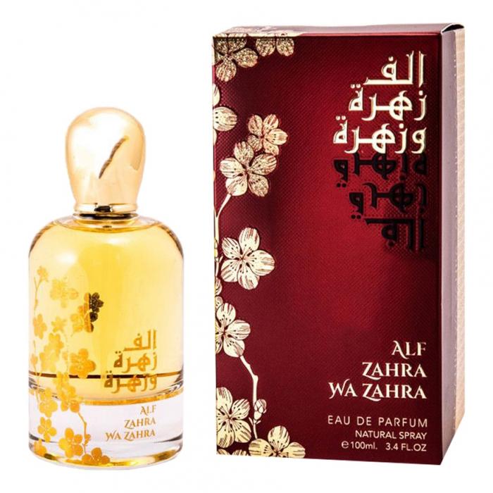 Parfum arabesc Alf Zahra Wa Zahra, apa de parfum 100 ml, femei 1