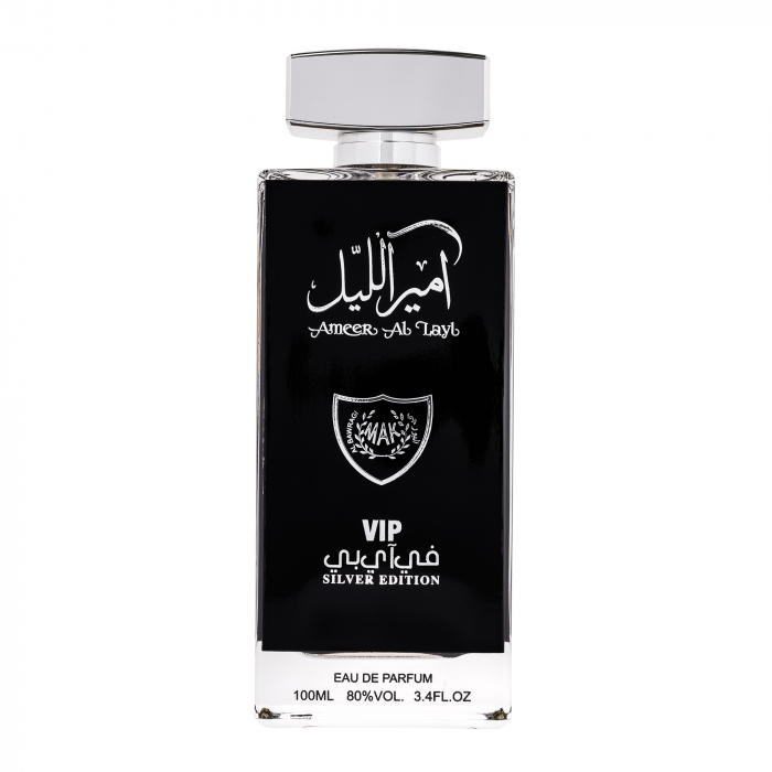 Parfum arabesc Ameer Al Layl Silver, apa de parfum 100 ml, femei [0]