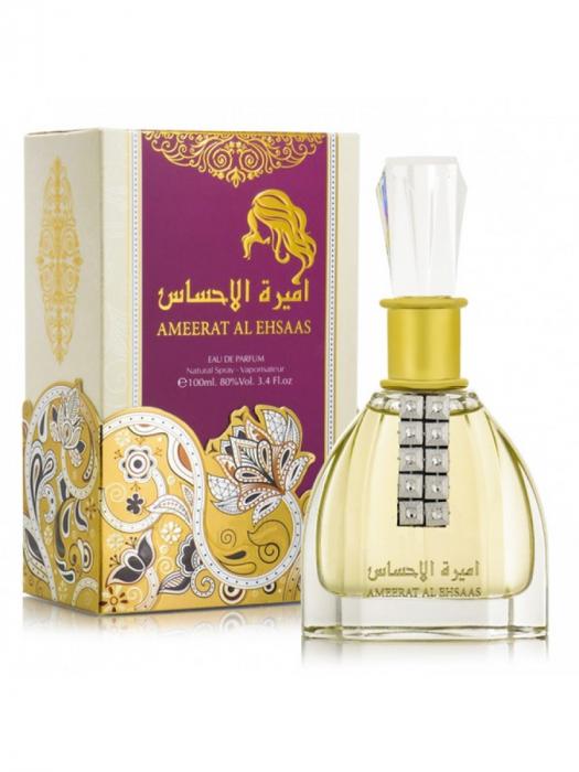 Parfum arabesc Ameerat Al Ehsaas, apa de parfum 100 ml, femei [3]