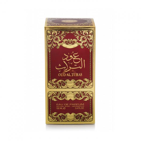 Parfum arabesc Ard Al Zaafaran Oud Al Turas, apa de parfum 100 ml, unisex 2