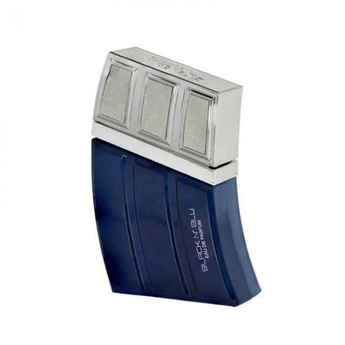 Parfum arabesc Black`n Blu, apa de parfum 90 ml, barbati [0]