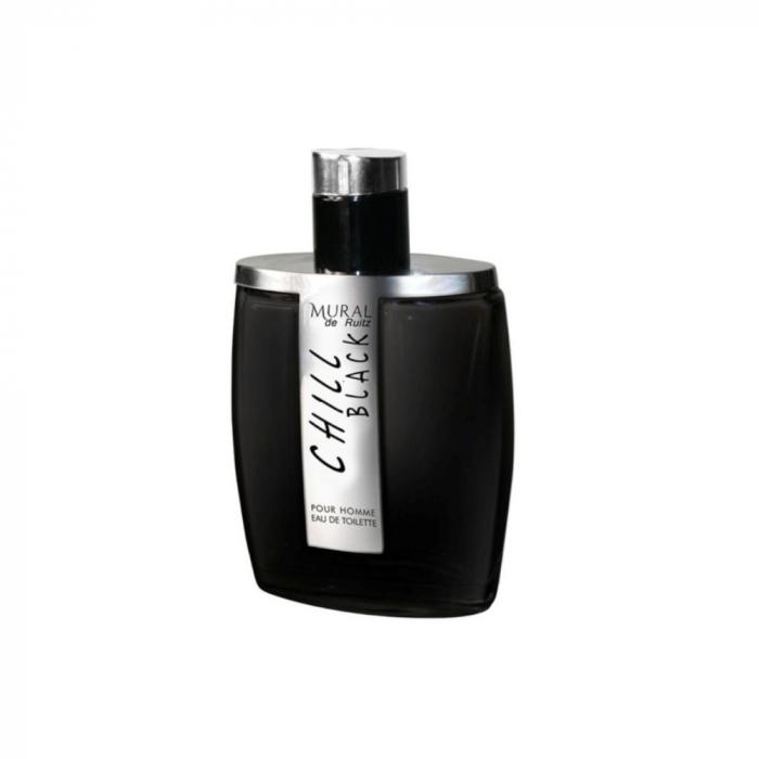 Parfum arabesc Chill Black, apa de parfum 100 ml, barbati 0