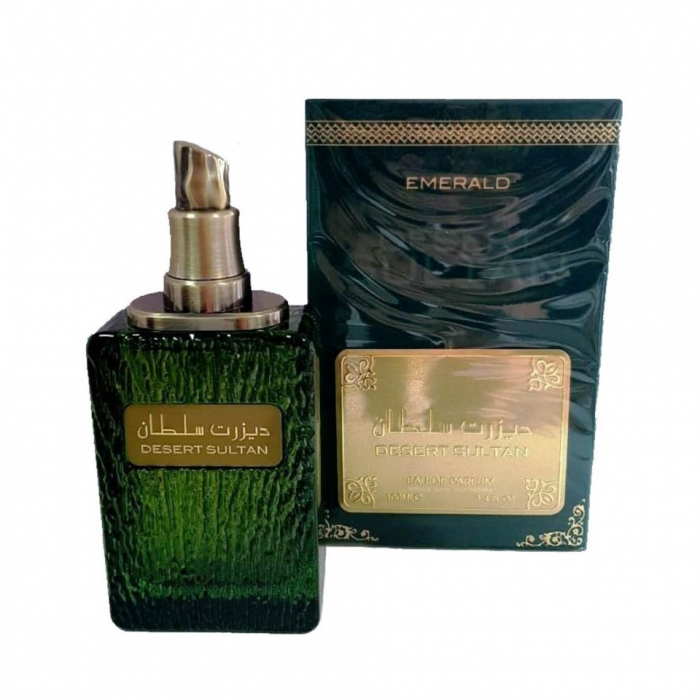 Parfum arabesc Desert Sultan Emerald, apa de parfum 100 ml, barbati [1]