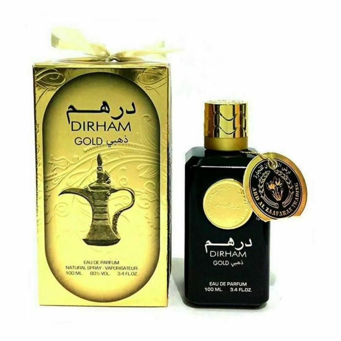 Parfum arabesc Dirham Gold, apa de parfum 100 ml, unisex [1]