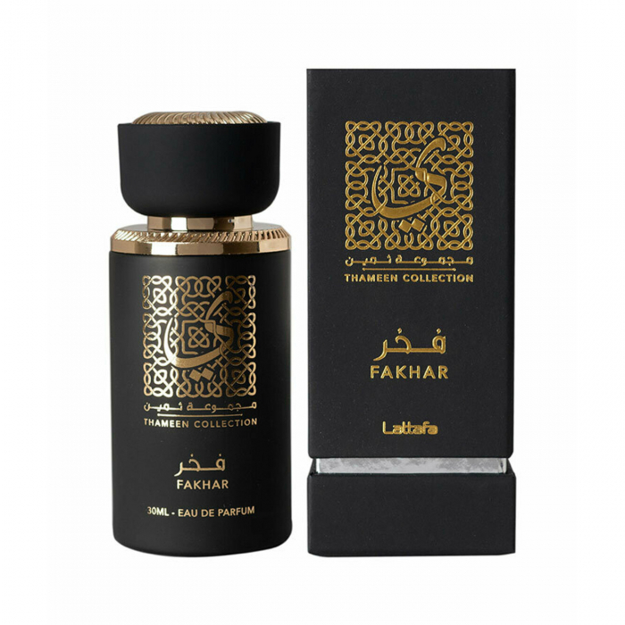 Parfum arabesc Fakhar Thameen Collection, apa de parfum 30 ml, unisex [1]