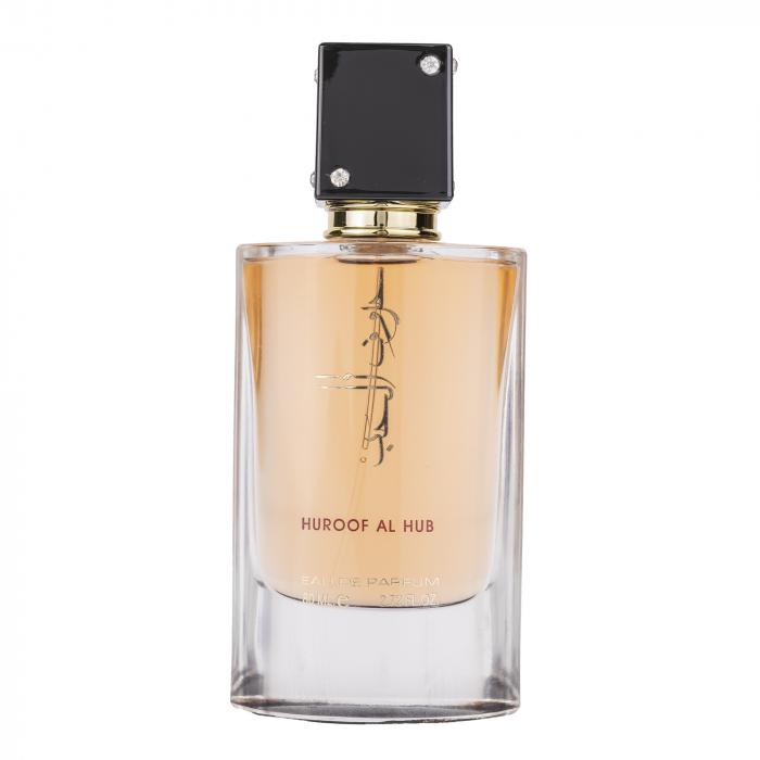 Parfum arabesc Huroof Al Hub, apa de parfum 80 ml, femei [0]