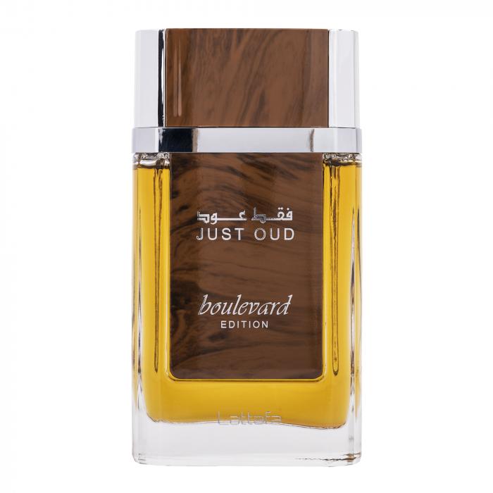 Parfum arabesc Just Oud Boulevard, apa de parfum 90 ml, barbati [0]