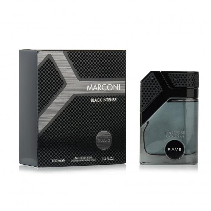 Parfum arabesc Marconi Black Intense, apa de parfum 100 ml, barbati [1]