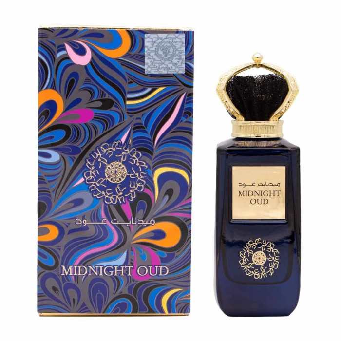 Parfum arabesc Midnight Oud, apa de parfum 100 ml, unisex [1]